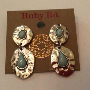 Ruby Road postback earrings